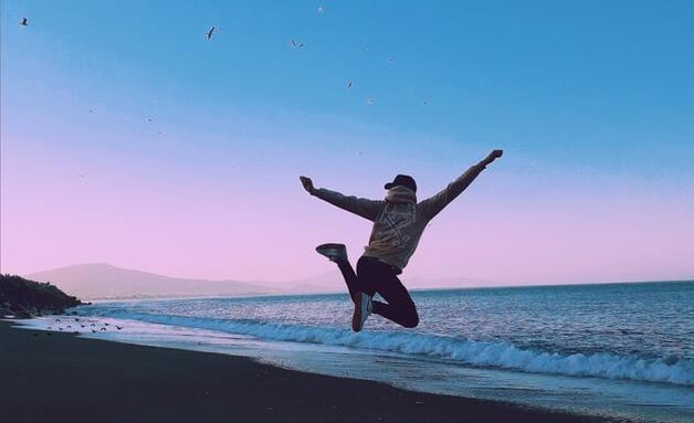 Photo of a person jumping in the air representing the freedom you feel after getting help for your depression, participating in counseling and finding relief from depression. Our psychotherapy practice can help you find this freedom if you're in Tampa or St. Petersburg, FL.