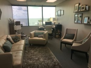 Therapy office, relaxing atmosphere | Tampa Office | Wellness Psychological | Therapy Services | Florida
